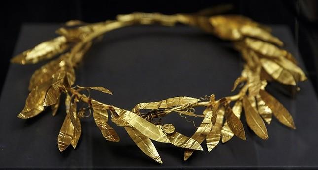 Golden Crown artifact (AA Photo)