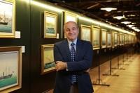 إسطنبول.. معرض لوحات نادرة لسفن ترفع العلم العثماني والتركي