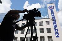 Ukrainian TV station hit by rocket-propelled grenade