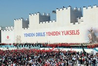 Thousands gather in Istanbul to mark Ottoman-era conquest