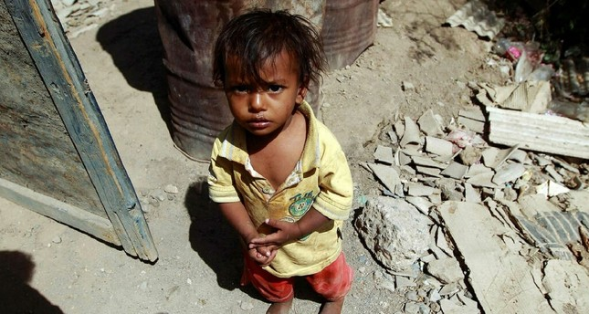 Hundreds of thousands of children in Yemen face life-threatening starvation due to the ongoing civil war.