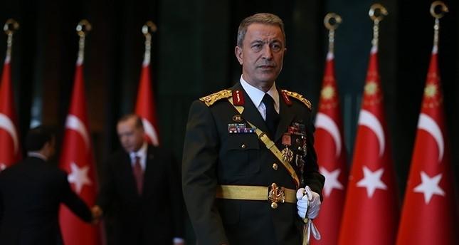 Turkey's Chief of Staff Akar attends Washington counter terror conference