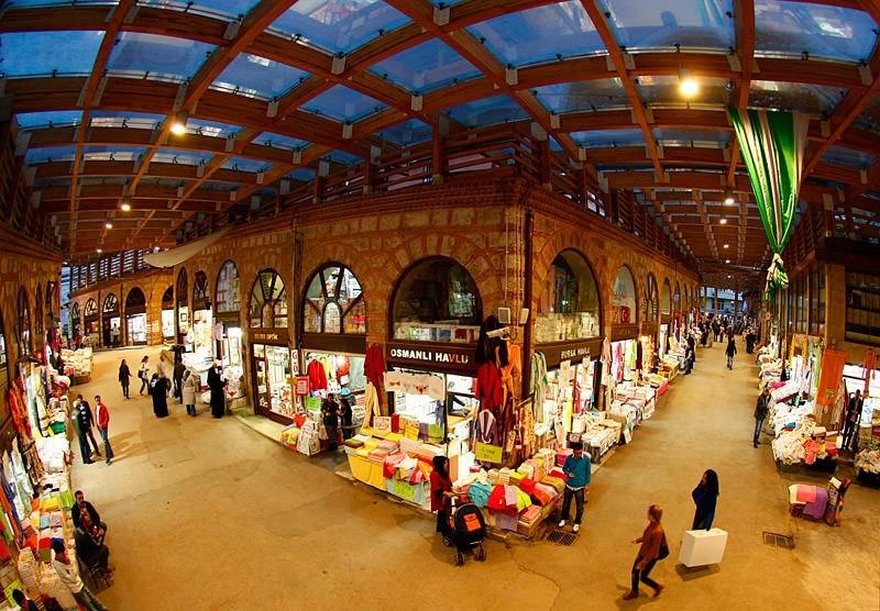 Top 10 bazaars around Turkey
