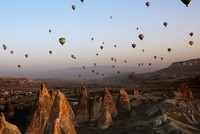 Over 329,000 enjoy hot air balloon ride in Turkish tourist hotspot Cappadocia