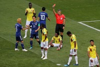Japan upsets 10-man Columbia in latest World Cup surprise