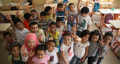 pA new project introduced by Turkish and European Union officials focuses on educating the so-called lost generation of Syrian refugees forced to skip their education as they are displaced by the...