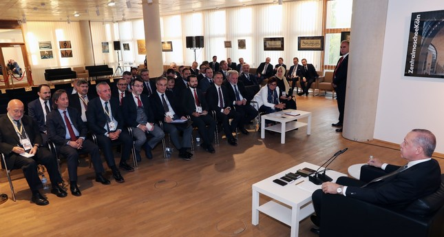President Recep Tayyip Erdoğan said his visit to Germany was an important step in overcoming roadblocks on normalizing bilateral ties with Berlin.