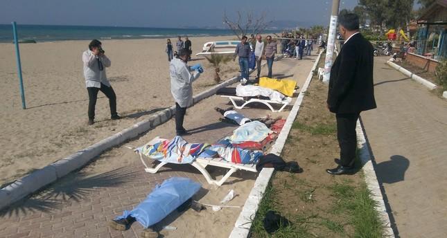 انتشال 11 جثة عقب غرق قارب مهاجرين في بحر إيجه غرب تركيا