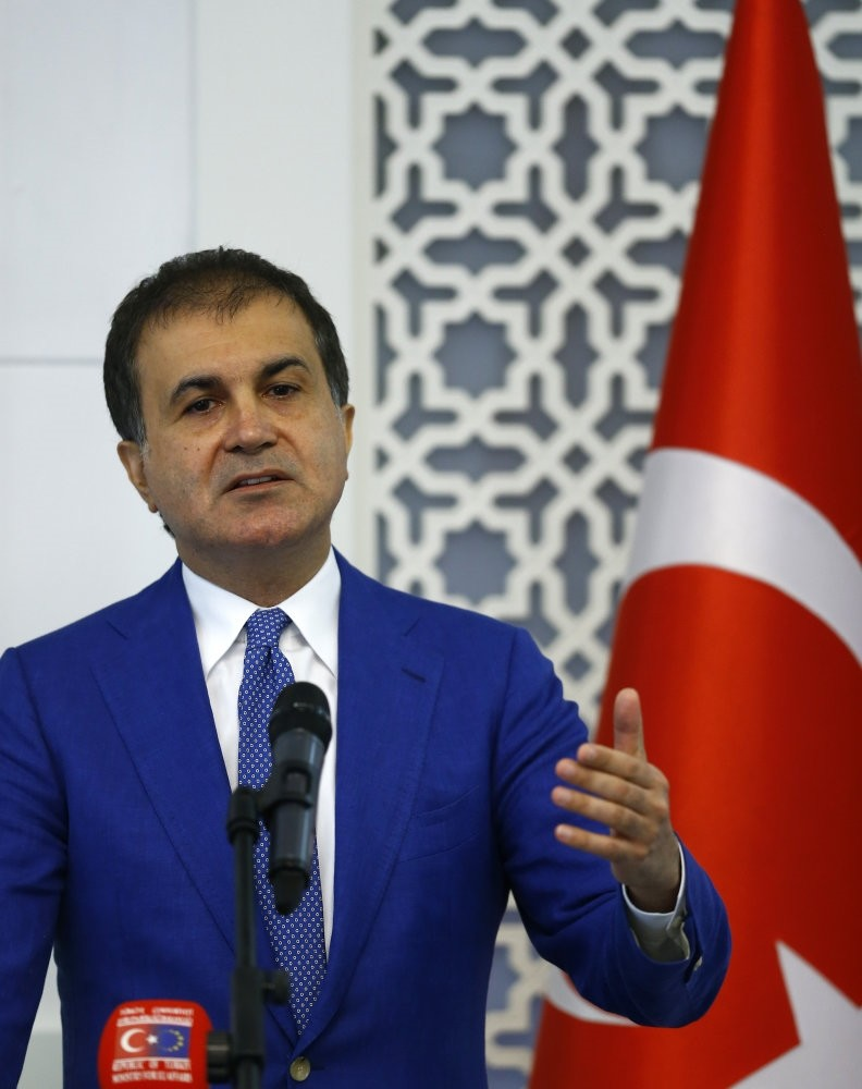u00c7elik said Merkel's remarks on not expanding the EU customs union deal with Turkey as ,very unfortunate.,