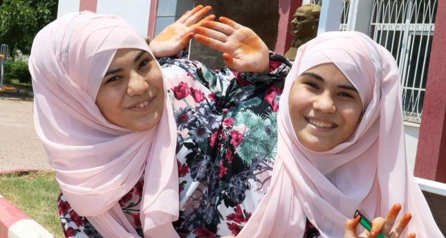 Siamese twins face university entrance test