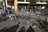 Protesters block Lebanon parliament, postponing session
