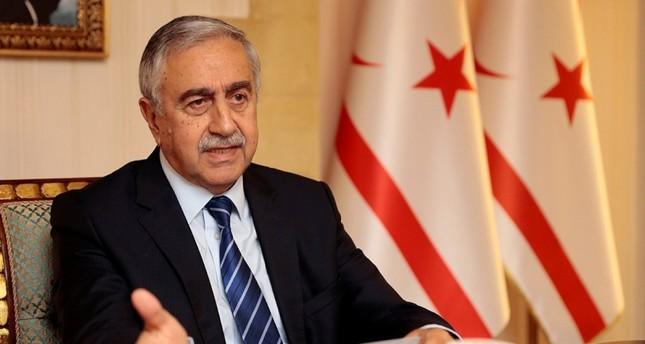 رئيس جمهورية شمال قبرص التركية مصطفى أقينجي
