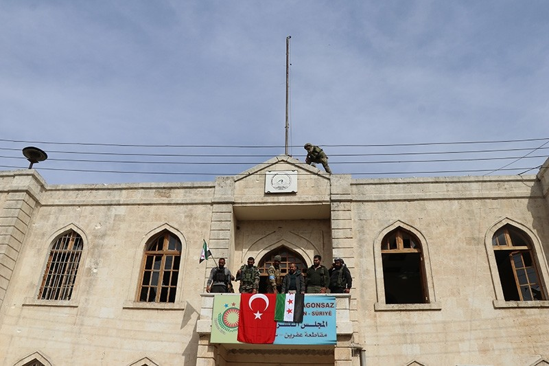Turkey-backed FSA units liberate Syria's Afrin from PKK/YPG terrorists