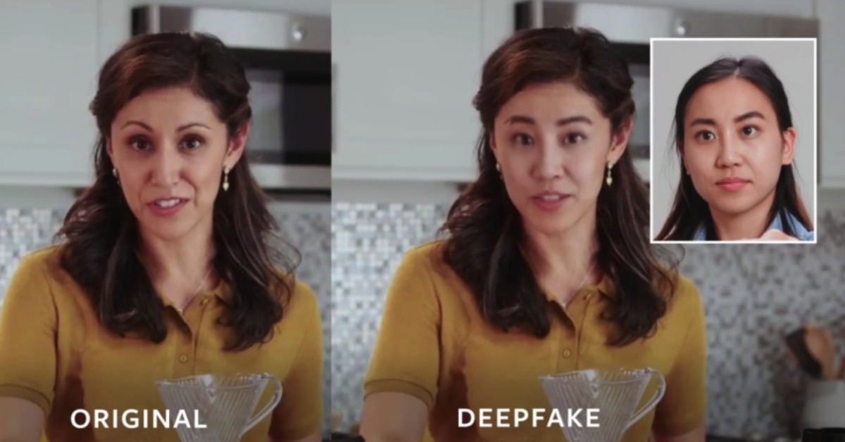 Deepfake can alter videos to change the face of the actual owner of the video.