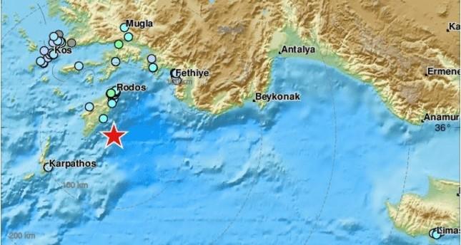 5.1 magnitude earthquake shakes Greece's Rhodes