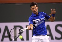 Osaka, Djokovic earn victories at Indian Wells