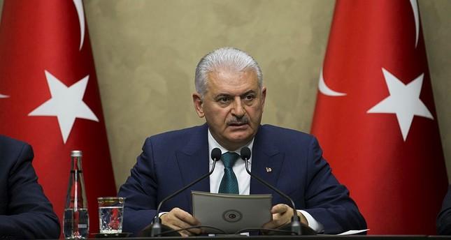 رئيس الوزراء التركي بن علي يلدريم - الأناضول