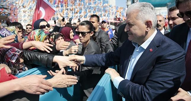 يلدريم: النظام الرئاسي كفيل بتحقيق الاستقرار السياسي في تركيا