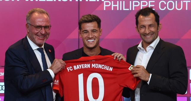 separation shoes 6a04b 869ac Bayern completes loan signing of Coutinho from Barcelona ...