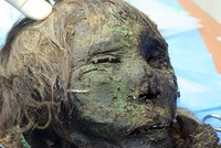 Archaeologists have discovered the mummy of a 900-year-old Russian