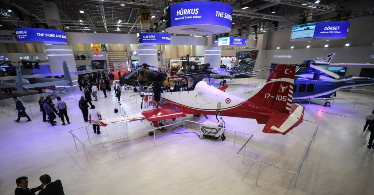 One of the four largest defense fairs in the world, IDEF welcomes 481 local firms and 580 foreign firms this year and 70 deals are expected to be signed during the fair which kicked off yesterday and will run until Friday, April 30, 2019.