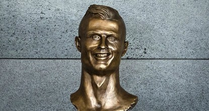 pCristiano Ronaldo had an international airport renamed in his honor on Wednesday but it was a newly unveiled bust of him that soon became a major talking point./p  pFive thousand screaming fans,...