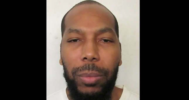 Death row inmate Dominique Ray, 42, is shown in this booking photo in Montgomery, Alabama, U.S., provided February 7, 2019. (AFP Photo)