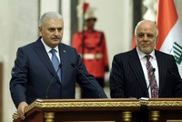 PM Yıldırım, Iraqi counterpart Abadi say willing to cooperate on cancellation of KRG referendum