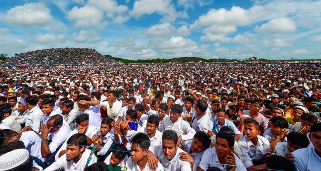 Thousands of Rohingya rally to mark 'Genocide Day' in