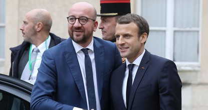 pFrance and Belgium are planning to get the current 28 member states of the European Union to adopt a joint statement condemning Trump's Jerusalem move during a trade summit as part of Brexit talks...