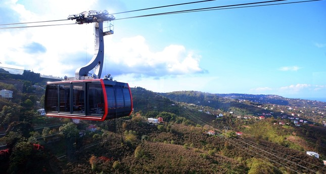 Discover the Black Sea from above by cable car