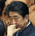 Japan's Abe faces sinking public approval upon favoritism allegations