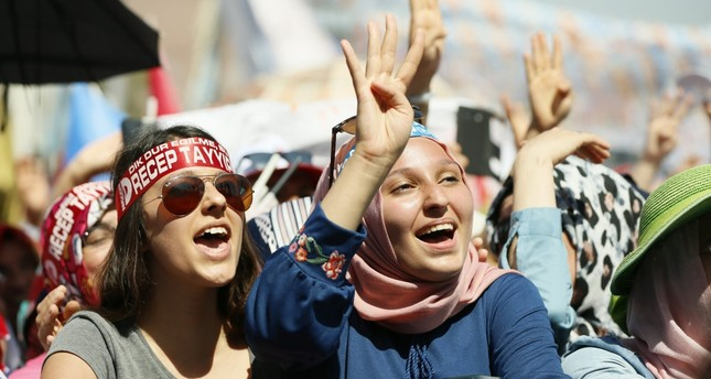 The AK Party's women's branches have 4.6 million members, higher than any other political party in Turkey.
