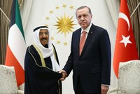 Erdoğan receives Emir of Kuwait as two countries seek boost in trade