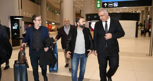 Anadolu Agency reporter arrives in Turkey after being released by Egypt