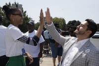 Michigan doctor campaigning to become first Muslim US governor