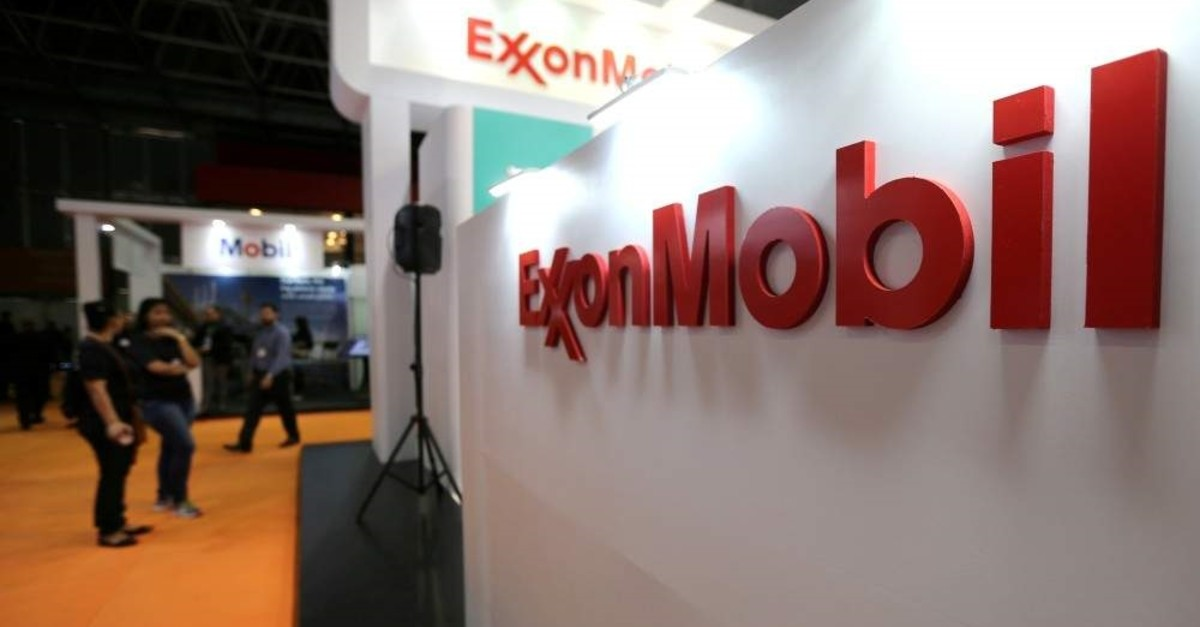 A logo of Exxon Mobil Corp is seen at the Rio Oil and Gas Expo and Conference in Rio de Janeiro, Brazil Sept. 24, 2018. (Reuters File Photo)