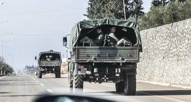 Military deployment in northern Syria's Manbij was scaled up yesterday as part of preparations for the likely operation in the city and to the area east of the Euphrates river to eliminate PKK affiliates and Daesh terrorists in the region.