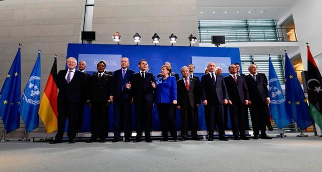 انطلاق أعمال مؤتمر برلين حول ليبيا بمشاركة تركيا