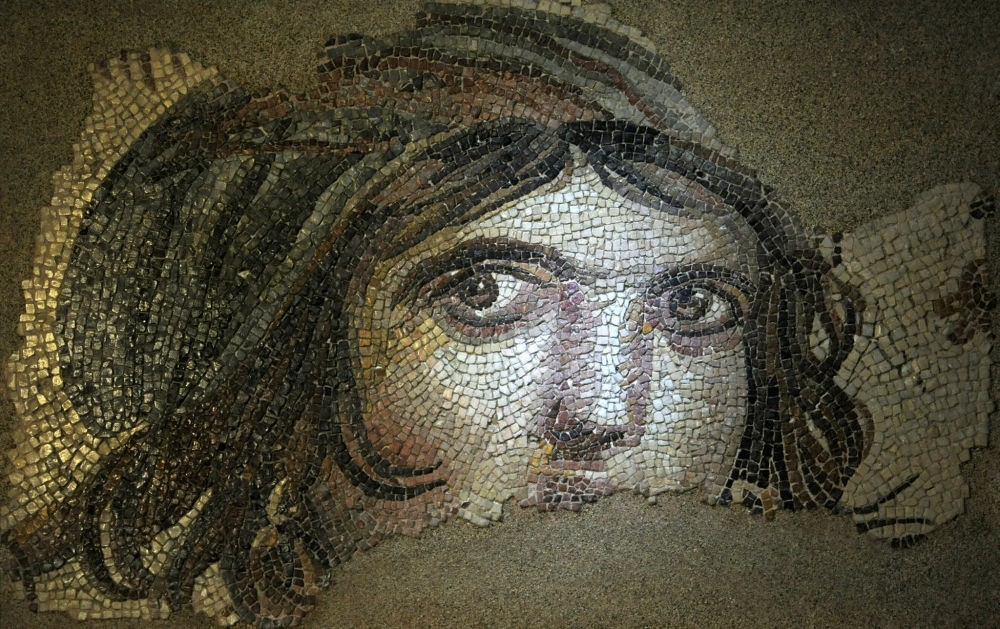 ,Gypsy Girl, mosaic