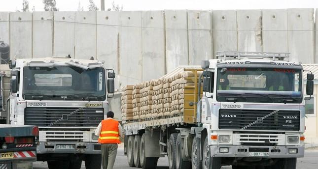 إسرائيل تغلق المعبر التجاري الوحيد مع قطاع غزة