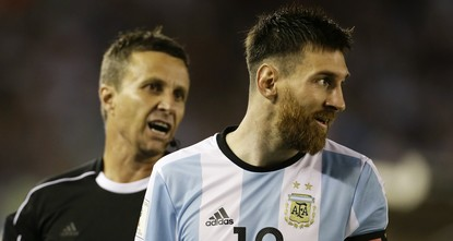 pBarcelona star Lionel Messi was suspended for four Argentina matches by FIFA on Tuesday for swearing at an assistant referee, a ban that will see the striker miss out on decisive qualifiers for...