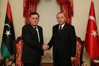 Erdoğan meets Libyan PM Sarraj in Istanbul