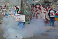 Palestinians protest Israeli attacks against journalists