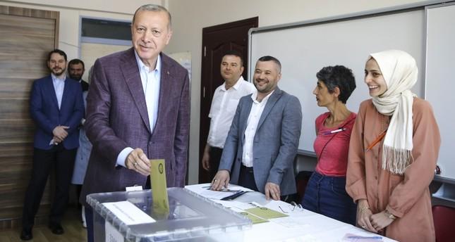 أردوغان: أتمنى أن تعود الانتخابات بالخير على البلاد