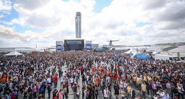 أكثر من نصف مليون زائر لمهرجان تكنوفيست إسطنبول