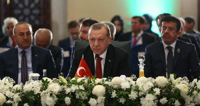 أردوغان: علينا القضاء على التنظيمات الإرهابية وعدم السماح لها بتشويه سمعة الإسلام