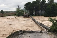 Flash floods damage towns in northern Turkey's Ordu