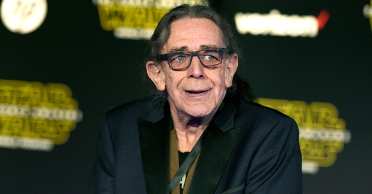 In this Dec. 14, 2015, file photo, Peter Mayhew arrives at the world premiere of ,Star Wars: The Force Awakens, in Los Angeles. (AP Photo)