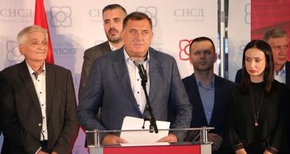 Bosnien: Serbischer Nationalist Dodik gewinnt Wahlen